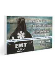 EMT I heard the voice of the Lord Gallery Wrapped Canvas Prints tile