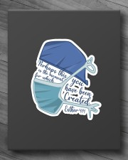 Nurse You have been created for Sticker - Single (Vertical) aos-sticker-single-vertical-lifestyle-front-10