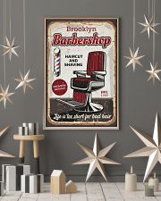 Barber Life is too short for bad hair 24x36 Poster lifestyle-holiday-poster-1