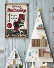 Barber Life is too short for bad hair 24x36 Poster lifestyle-holiday-poster-2