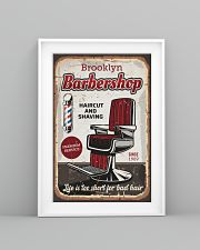 Barber Life is too short for bad hair 24x36 Poster lifestyle-poster-5