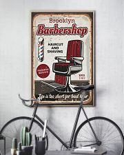 Barber Life is too short for bad hair 24x36 Poster lifestyle-poster-7