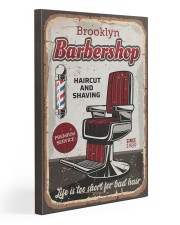 Barber Life is too short for bad hair Gallery Wrapped Canvas Prints tile