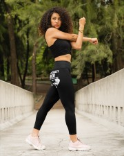Plumber Dont touch High Waist Leggings aos-high-waist-leggings-lifestyle-10