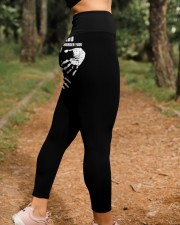 Plumber Dont touch High Waist Leggings aos-high-waist-leggings-lifestyle-21