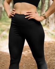 Plumber Dont touch High Waist Leggings aos-high-waist-leggings-lifestyle-22