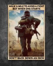 Veteran Don't back down an inch  24x36 Poster aos-poster-portrait-24x36-lifestyle-12