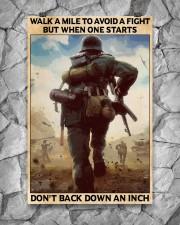 Veteran Don't back down an inch  24x36 Poster aos-poster-portrait-24x36-lifestyle-13