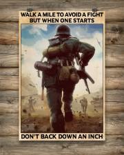Veteran Don't back down an inch  24x36 Poster aos-poster-portrait-24x36-lifestyle-14