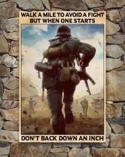 Veteran Don't back down an inch  24x36 Poster aos-poster-portrait-24x36-lifestyle-16