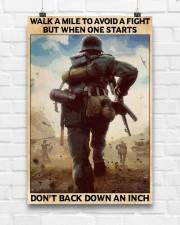 Veteran Don't back down an inch  24x36 Poster aos-poster-portrait-24x36-lifestyle-17