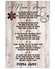 Nurse A nurse's prayer Vertical Poster tile