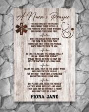 Nurse A nurse's prayer 24x36 Poster aos-poster-portrait-24x36-lifestyle-13