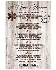 Nurse A nurse's prayer 24x36 Poster front