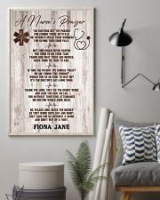 Nurse A nurse's prayer 24x36 Poster lifestyle-poster-1