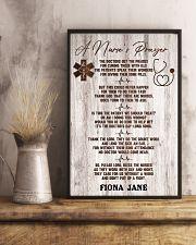 Nurse A nurse's prayer 24x36 Poster lifestyle-poster-3