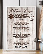 Nurse A nurse's prayer 24x36 Poster lifestyle-poster-4