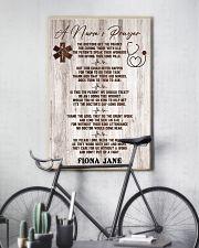 Nurse A nurse's prayer 24x36 Poster lifestyle-poster-7
