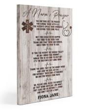Nurse A nurse's prayer 20x30 Gallery Wrapped Canvas Prints thumbnail