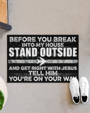 """AF Stand outside  Doormat 34"""" x 23"""" aos-doormat-34-x-23-lifestyle-front-07"""