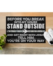 """AF Stand outside  Doormat 34"""" x 23"""" aos-doormat-34-x-23-lifestyle-front-12"""