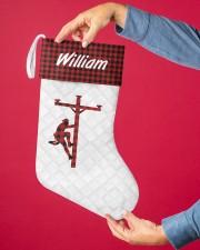 Lineman Christmas Stocking Christmas Stocking aos-christmas-stocking-lifestyles-02