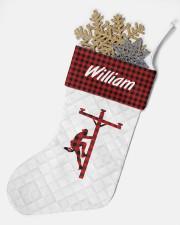 Lineman Christmas Stocking Christmas Stocking aos-christmas-stocking-lifestyles-05
