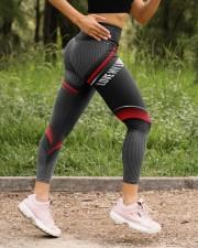 Lineman Love my lineman mkt0704 High Waist Leggings aos-high-waist-leggings-lifestyle-15