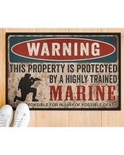 "MR This property is protected  Doormat 34"" x 23"" aos-doormat-34-x-23-lifestyle-front-03"