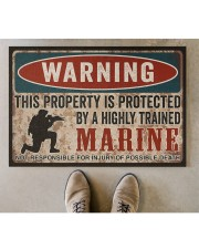 "MR This property is protected  Doormat 34"" x 23"" aos-doormat-34-x-23-lifestyle-front-04"