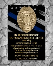 Police In recognition of outstanding 24x36 Poster aos-poster-portrait-24x36-lifestyle-13