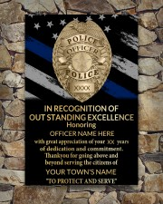 Police In recognition of outstanding 24x36 Poster aos-poster-portrait-24x36-lifestyle-16