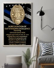 Police In recognition of outstanding 24x36 Poster lifestyle-poster-1