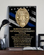 Police In recognition of outstanding 24x36 Poster lifestyle-poster-2