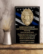 Police In recognition of outstanding 24x36 Poster lifestyle-poster-3