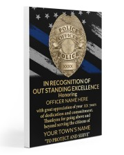 Police In recognition of outstanding 20x30 Gallery Wrapped Canvas Prints thumbnail