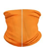 Teacher Care299 Orange Neck Gaiter back