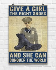 Police give a girl the right shoes 24x36 Poster aos-poster-portrait-24x36-lifestyle-17