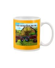 Farmer Easily distracted by tractors Mug tile