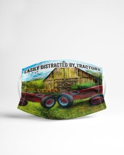 Farmer Easily distracted by tractors Cloth face mask aos-face-mask-lifestyle-22
