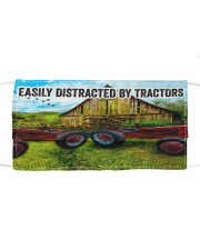 Farmer Easily distracted by tractors Cloth face mask front