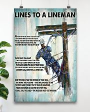 Lineman Lines To A Lineman 24x36 Poster poster-portrait-24x36-lifestyle-19