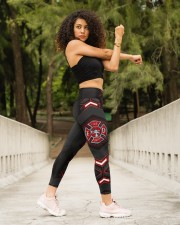 Firefighter Fire Dept High Waist Leggings aos-high-waist-leggings-lifestyle-10