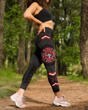 Firefighter Fire Dept High Waist Leggings aos-high-waist-leggings-lifestyle-20