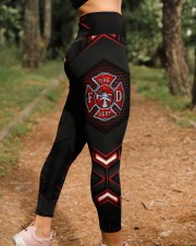 Firefighter Fire Dept High Waist Leggings aos-high-waist-leggings-lifestyle-21