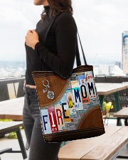 Firefighter Mom All-over Tote aos-all-over-tote-lifestyle-front-04