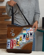 Firefighter Mom All-over Tote aos-all-over-tote-lifestyle-front-10