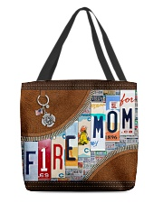 Firefighter Mom All-over Tote front