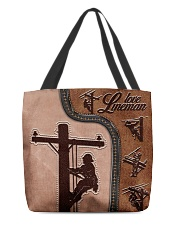 Lineman  All-over Tote thumbnail