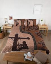 Lineman  Queen Quilt Bed Set aos-queen-quilt-bed-set-lifestyle-front-04